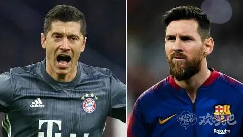 欧冠巴萨大战拜仁预计双方首发阵容出炉,梅西对决莱万,最强锋霸的较量!2