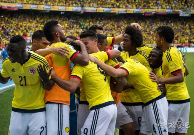 哥伦比亚大名单:J罗法尔考领衔,申花莫雷诺入选
